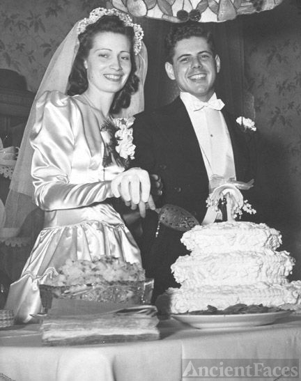 Wedding of Mr & Mrs John Leslie Miller