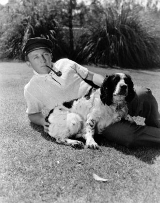 "A photo of Harry Lillis ""Bing"" Crosby"