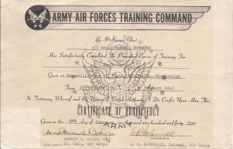 Louis Bomhof training certificate