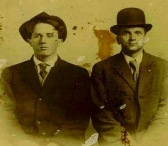 "Frank ""Lester"" McEnterfer and Joseph Matthew Finch"