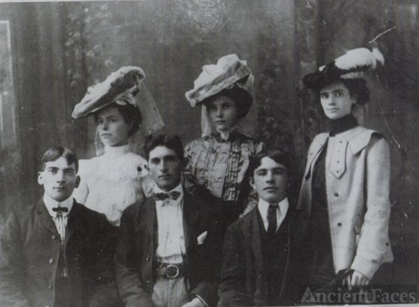 Nance Brothers and Their Wives