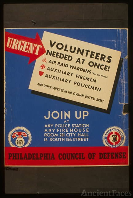 Urgent - volunteers needed at once! Join up at any police...
