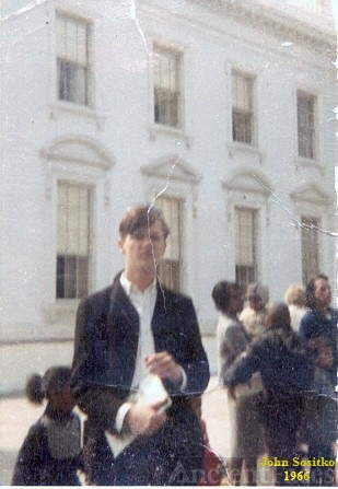 John Sositko in Washinton D.C.