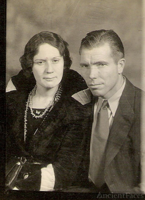 My Great-Aunt Mairl Brownlow & Husband, Ross Kirk