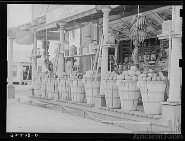 Fruit stand. Robstown, Texas