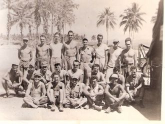 Howard J. Ruge, WWII Crew, New Guinea