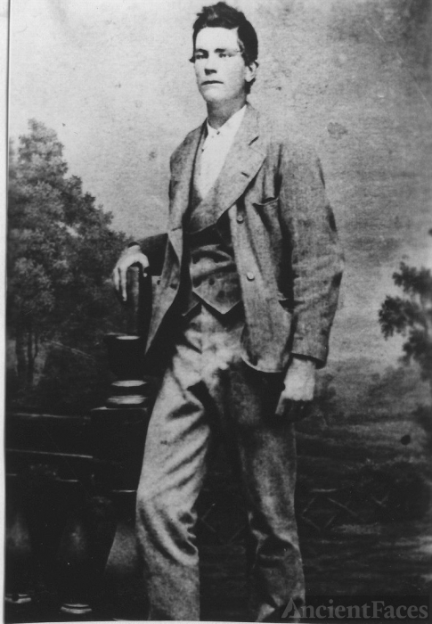 James Henry Hess at age 16