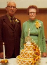 50th Wedding Anniverary Emil and Pearl (Rinehart) Pospisil