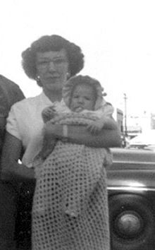 June (Aguayo) & Nancy June Ramage, 1952