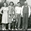 Wilda, Albert Jr, Albert Sr., & Michael Citero, California c1940