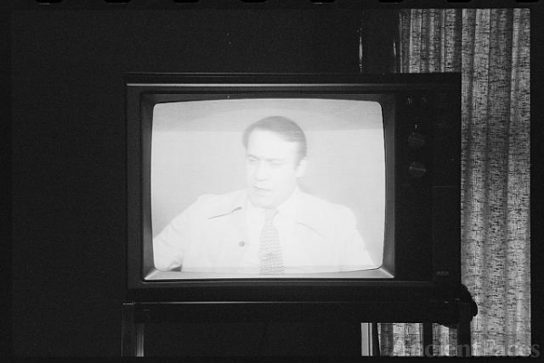 [Speaker on television following President Jimmy Carter's...