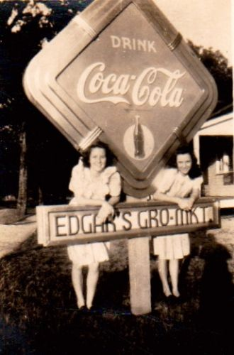 Edgar Cafe, Florida circa 1940