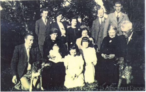 Kelly Clan with Edward Mullin