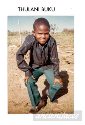 Thulani Buku, South Africa 1986