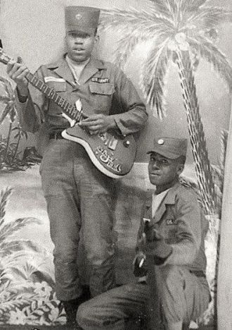 Jimi Hendrix & Billy Cox