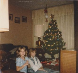 Becky and Jamie Bradley, 1983