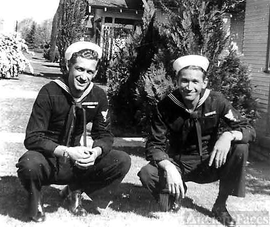 Ernie and Walter Marks, WWII Sailors