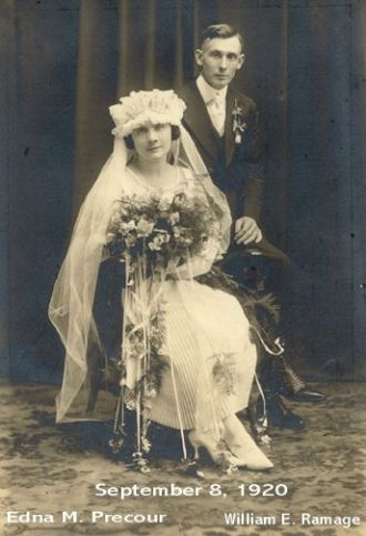 Ramage Wedding picture, Wisconsin
