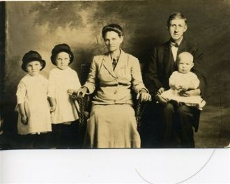 George H. Geren and Family