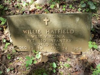 Wille Hatfield Grave, West Virginia