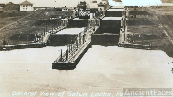 Gotun Locks, Panama Canal