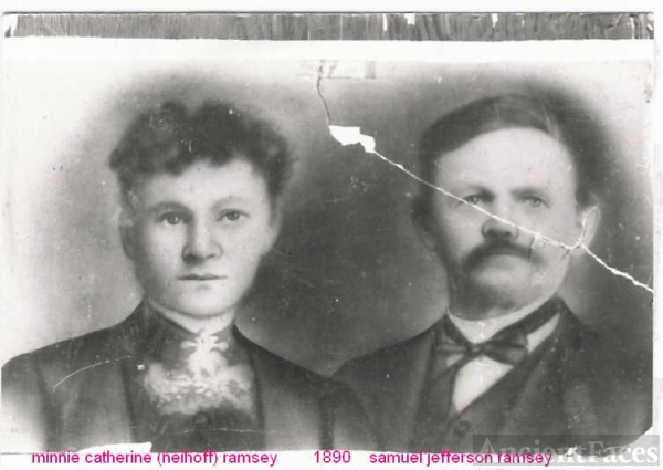 samuel and minnie ramsey 1890