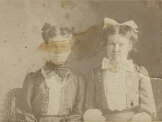 Unknown young ladies