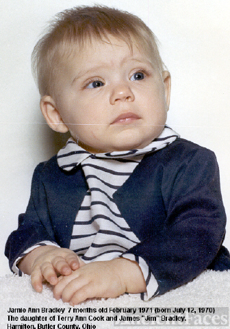Jamie Bradley at 7 months
