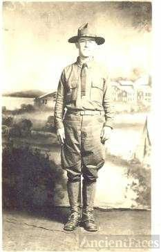 Leo F. Harvey, WW I