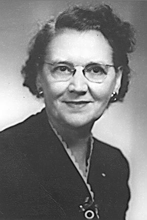 A photo of Annie May Nelson