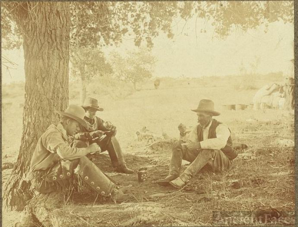 Cowboys in Texas 1908