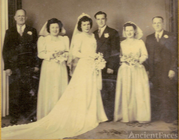 Doris Ida (Henley) Fanny wedding