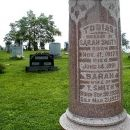 Tobias and Sarah Sells Smith Headstone