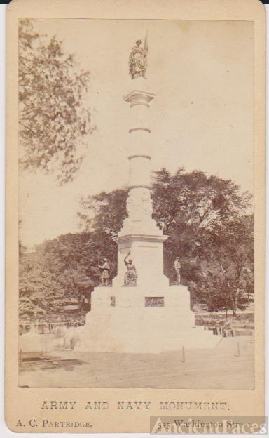 Army & Navy Monument, Massachusetts
