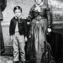 Harry A. Pittard and Mother, In England