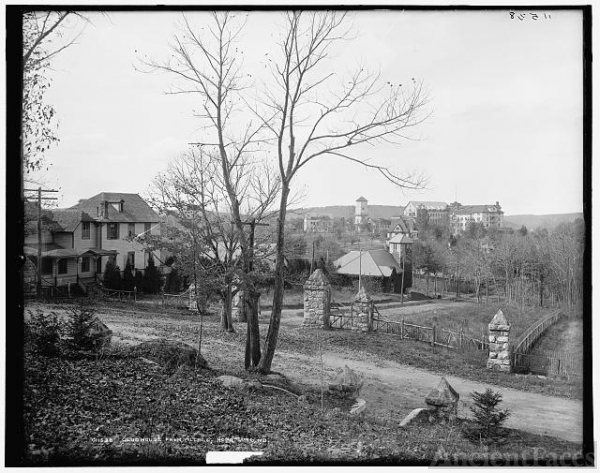Club house from village, Hopatcong, N.J.