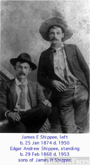 James E. & Edgar Andrew Shippee, 1890