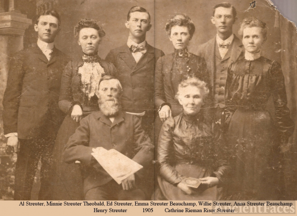Streuter Family, Illinois