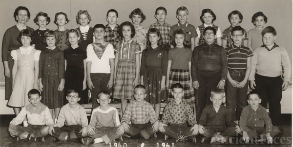 Garrison School, Gr 5, 1960-1961, named