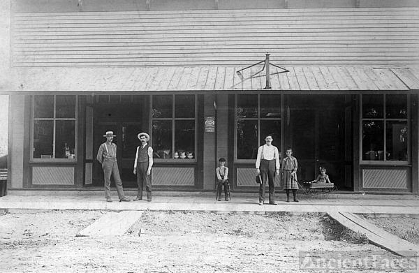Cook Family  Mercantile Store
