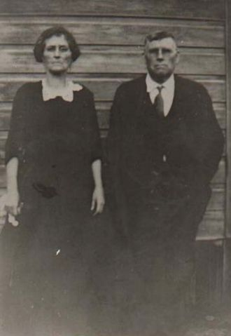 A photo of James and Mary Elizabeth (Rhea) Spivey