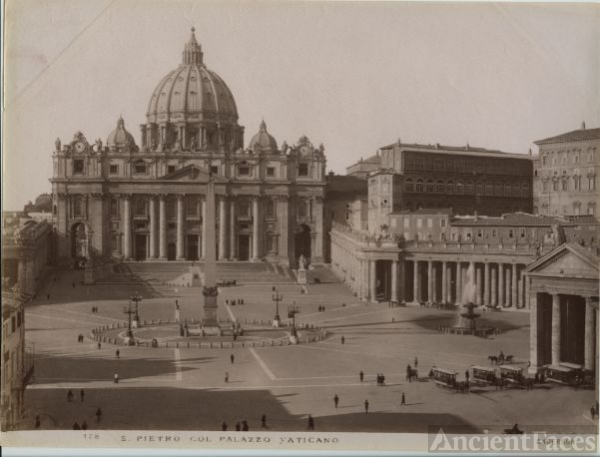 Saint Peter's and the Vatican Palace