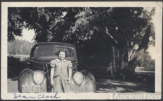 Jean Clark & '37 Ford