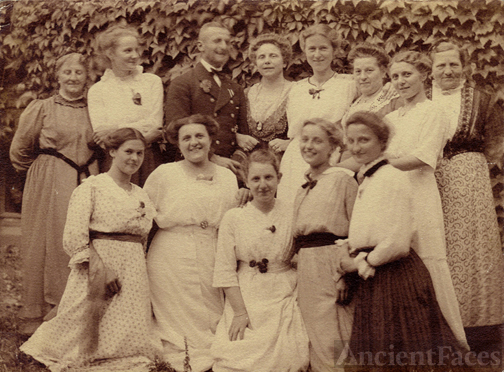 1916 Family in Germany