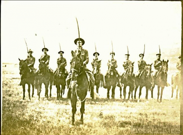 Cavalry ? Postcard No. 1