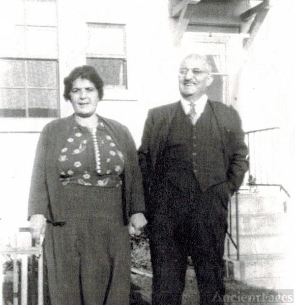 Solomon Maloff & wife