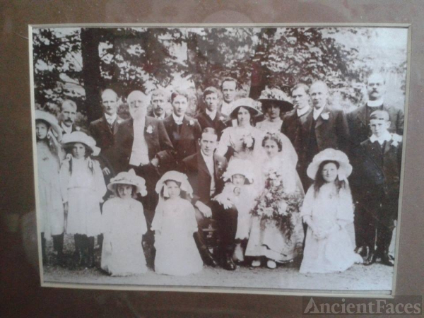 Unknown wedding, England
