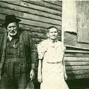 william and nancy Goode in front of there home
