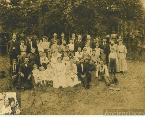 Sheeks Reunion Abt 1908, Part A
