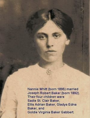 Nannie Whitt Baker